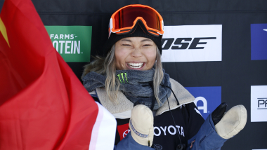Chloe Kim crowned halfpipe world champion