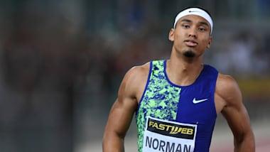 Michael Norman beats Noah Lyles in Rome 200m thriller