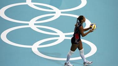 USA vs KAZ| Torneio Olímpico Qualificatórias Femininas FIVB-Bossier Cit. LOU