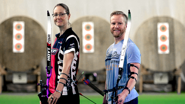 Sports Swap: Tiro con arco vs Curling con Lisa Unruh y Niklas Edin