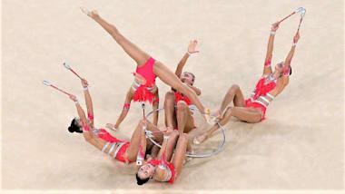 【新体操団体】世界選手権最終日:フェアリージャパン、種目別のボールで団体史上初の金メダル!