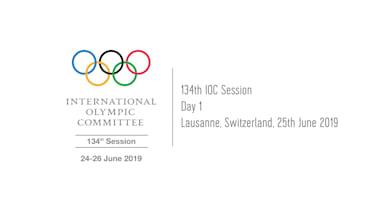 134th IOC Session - 25th June