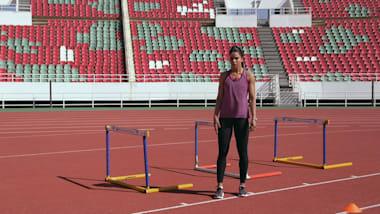 ألعاب القوى: اتقان قفز الحواجز