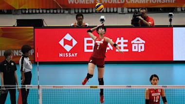FIVB女子バレーボールネーションズリーグ2019第5週2戦目。日本は韓国に敗れ予選敗退