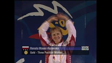 Renata Mauer-Różańska in Sydney 2000