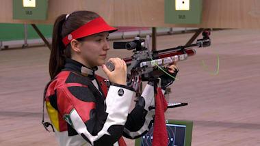 Пневм. винтовка, 10м, женщины, финал | Стрельба - Европейские игры - Минск