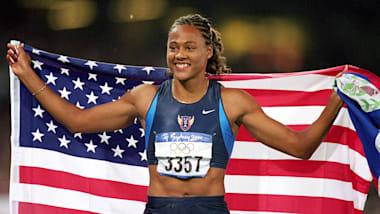 Finale controversée du 100 m féminin à Sydney en 2000