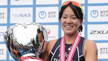 世界トライアスロン横浜大会女子エリートで、高橋侑子が日本人最高位の4位に! 五輪切符も内定か