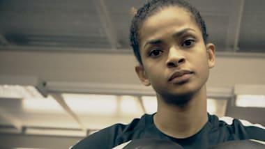 Die somalische Boxerin, die aus dem Krieg flüchtete, um zu Siegen