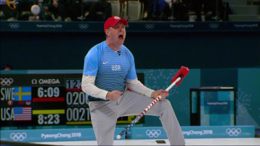 USA scores five-point curling screamer and win Gold