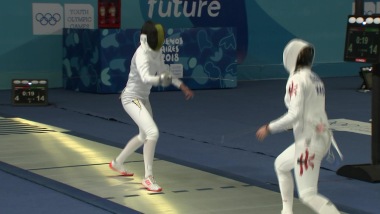 Women's Epee & Men's Epee - Fencing | YOG 2018 Highlights