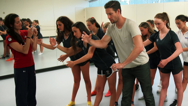 'Mr. Robot' 댄스가 아티스틱 스위밍 팀의 역사를 만들 수 있을까
