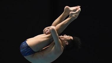 世界水泳・韓国大会6日目:男子3m飛板飛び込みで坂井、寺内は準決勝進出ならず