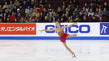 Quad-jumping Anna Shcherbakova steals show at Skate America