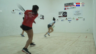 IRF 2018 Pan American Racquetball Championships Women´s Doubles Semi Final