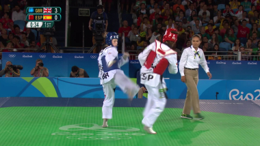 Jade Jones nos enseña a patear