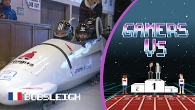 Gamers As2Pik e Nemsworld experimentam a adrenalina do bobsleigh