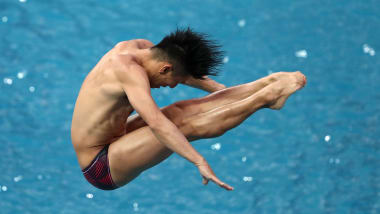 【飛び込み】日本選手権3日目:13歳・玉井陸斗が男子10m高飛込で優勝