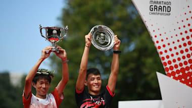 マラソングランドチャンピオンシップ男子:中村匠吾と服部勇馬が五輪内定! 大迫傑は3位