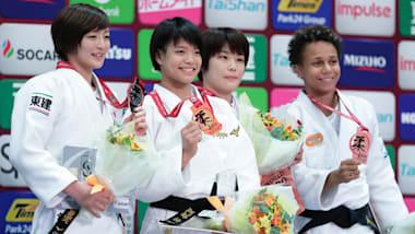 柔道グランドスラム大阪2018が開幕…女子52kg阿部詩など、4階級で日本人選手が頂点に