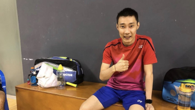 Lee Chong Wei beats cancer and is back on the badminton court after