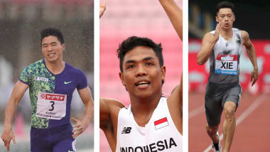Meet three Asian sprint hopefuls for the 2019 IAAF World Championships