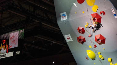Garnbret retains Combined title at sport climbing world champs to confirm status as Tokyo 2020 favourite