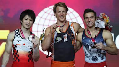 世界体操2018、内村航平が鉄棒で銀メダルを獲得…日本勢は2007年大会以来となる金ゼロに