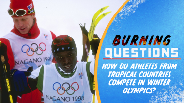 How do athletes from tropical countries compete in Winter Olympics?