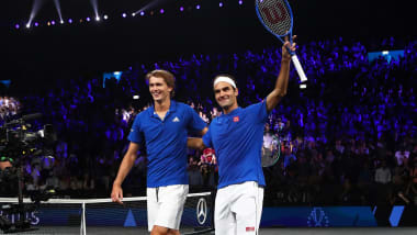 テニスのレーバー杯、初日はヨーロッパチームが3-1で先行…フェデラー/ズベレフ組が勝利