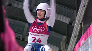 Lauf 4 - Damen Rennrodeln | PyeongChang Wiederholung