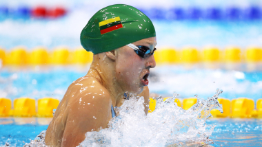 Age no barrier for Lithuanian teenager Meilutyte | London 2012 Replays
