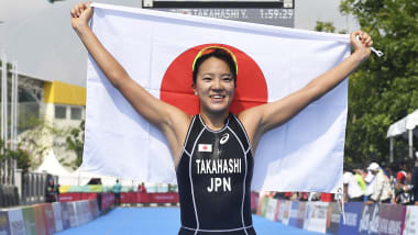 トライアスロン日本選手権、女子は高橋侑子、男子は北条巧が連覇