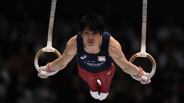 Kohei Uchimura pulls out of individual all-around at Worlds in Doha