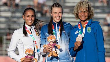 Women's 200m Final Run - Athletics | Buenos Aires 2018 YOG
