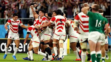ラグビー日本代表が「ONE TEAM」で塗り替えた歴史。史上初のW杯ベスト8進出を達成