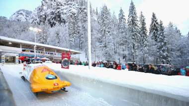 Four-Man Bobsleigh - Run 2 | IBSF World Cup & European Championships - Königssee