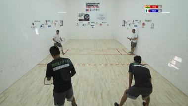 IRF 2018 Pan American Racquetball Championships Men´s Doubles Final