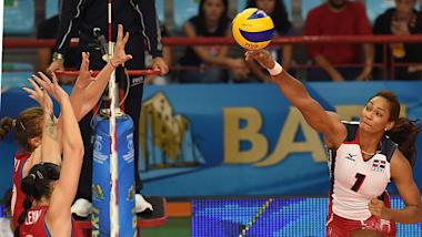 DOM vs AZE | Torneio Olímpico Qualificatórias Femininas FIVB - Uberlândia