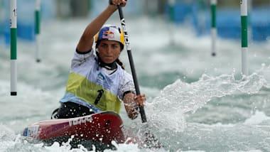 YOG champion Jessica Fox sets new records in Rio