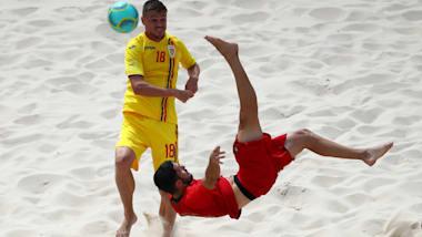 Finale Beach Soccer | Jeux de Plage Méditerranéens 2019 - Patras