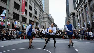 3人制バスケットボールの正式呼称・表記が「スリー・エックス・スリー」に変更
