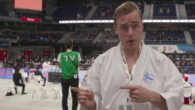 Behind the scenes at the World Championships with 'The Karate Nerd'