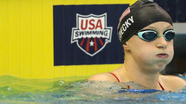 The hardest thing about being Katie Ledecky