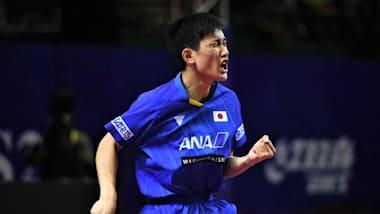 【卓球】アジア選手権6日目:男子シングルスの張本智和、ダブルスでは男女ともに日本勢がメダル確定!