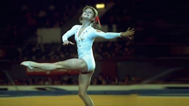 Olga Korbut conquista medallas y corazones en Múnich 1972