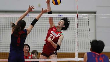 バレーボールアジア選手権:女子Bグループ予選・日本がオーストラリアにストレート勝ち