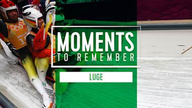 Top 5 momentos lendários do Luge