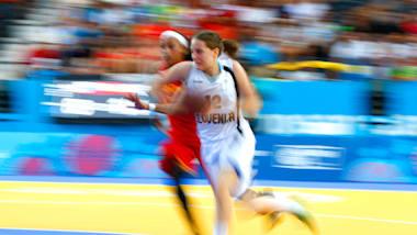 Finale Séries FIBA (F) - Edmonton