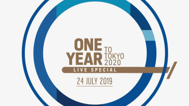 One year to Tokyo 2020 Live Special | Promo